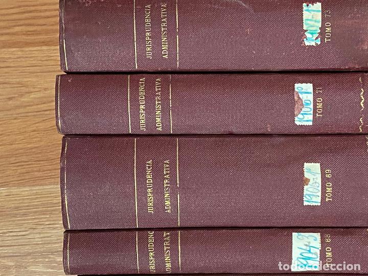 Libros antiguos: 43 TOMOS JURISPRUDENCIA ADMINISTRATIVA - Foto 18 - 216661476