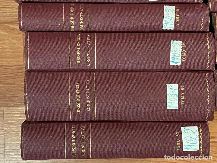 Libros antiguos: 43 TOMOS JURISPRUDENCIA ADMINISTRATIVA - Foto 19 - 216661476