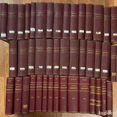 Libros antiguos: 43 TOMOS JURISPRUDENCIA ADMINISTRATIVA. Lote 216661476