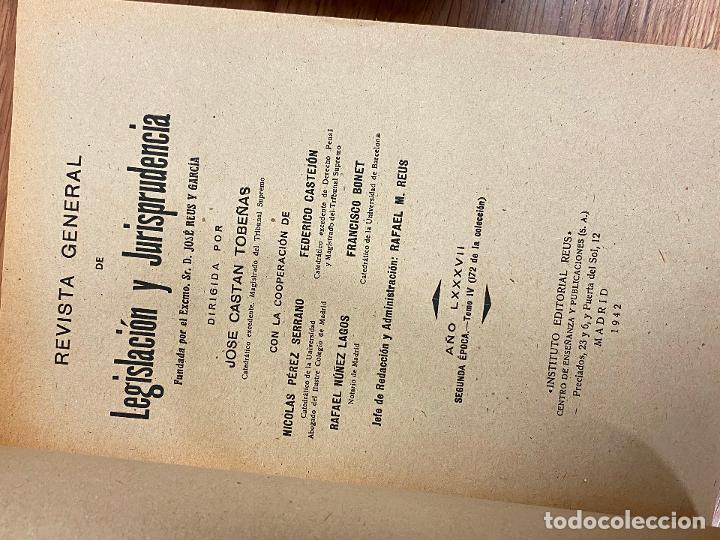 Libros antiguos: 7 TOMOS LEGISLACION Y JURISPRUDENCIA - Foto 2 - 216661950