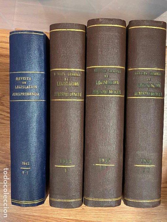 Libros antiguos: 7 TOMOS LEGISLACION Y JURISPRUDENCIA - Foto 6 - 216661950