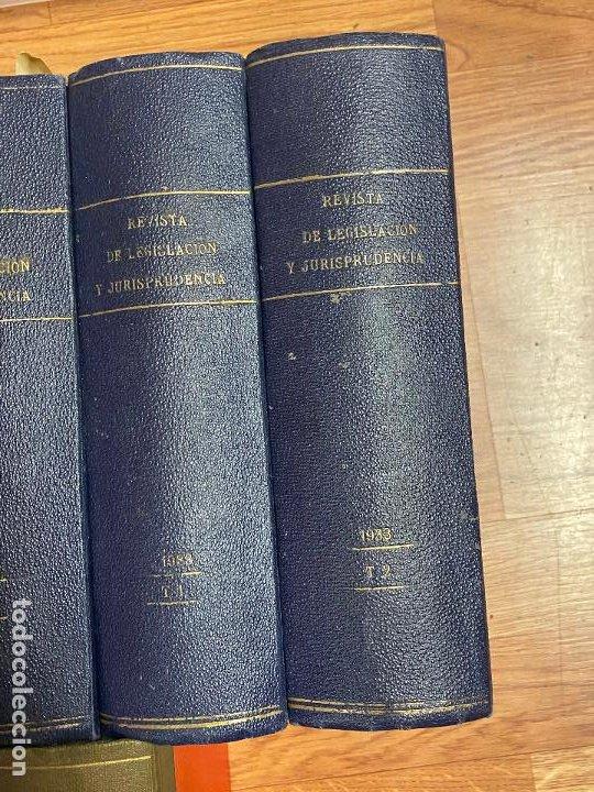 Libros antiguos: 7 TOMOS LEGISLACION Y JURISPRUDENCIA - Foto 10 - 216661950
