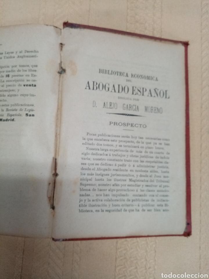 Libros antiguos: Código Penal, 1902 - Foto 5 - 216808363