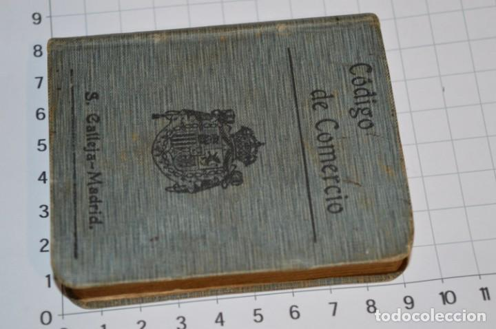 Libros antiguos: CALLEJA - BIBLIOTECA DEL DERECHO VIGENTE - CÓDIGO de COMERCIO / Número 01 - Finales 1800 - ¡Mira! - Foto 3 - 217033905