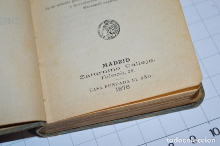 Libros antiguos: CALLEJA - BIBLIOTECA DEL DERECHO VIGENTE - CÓDIGO de COMERCIO / Número 01 - Finales 1800 - ¡Mira! - Foto 8 - 217033905