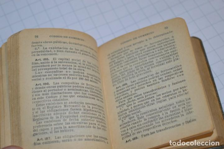Libros antiguos: CALLEJA - BIBLIOTECA DEL DERECHO VIGENTE - CÓDIGO de COMERCIO / Número 01 - Finales 1800 - ¡Mira! - Foto 9 - 217033905