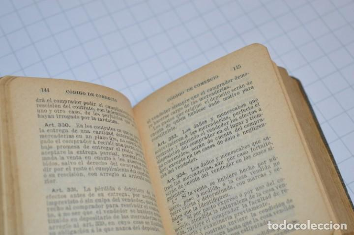Libros antiguos: CALLEJA - BIBLIOTECA DEL DERECHO VIGENTE - CÓDIGO de COMERCIO / Número 01 - Finales 1800 - ¡Mira! - Foto 10 - 217033905