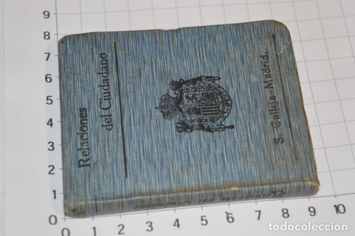 Libros antiguos: CALLEJA - BIBLIOTECA DEL DERECHO VIGENTE - RELACIONES del CIUDADANO / Número 30 Finales 1800 ¡Mira! - Foto 2 - 217088008