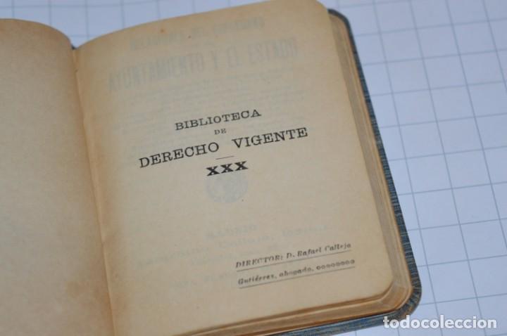 Libros antiguos: CALLEJA - BIBLIOTECA DEL DERECHO VIGENTE - RELACIONES del CIUDADANO / Número 30 Finales 1800 ¡Mira! - Foto 5 - 217088008
