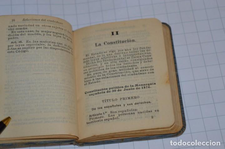 Libros antiguos: CALLEJA - BIBLIOTECA DEL DERECHO VIGENTE - RELACIONES del CIUDADANO / Número 30 Finales 1800 ¡Mira! - Foto 7 - 217088008