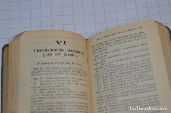 Libros antiguos: CALLEJA - BIBLIOTECA DEL DERECHO VIGENTE - RELACIONES del CIUDADANO / Número 30 Finales 1800 ¡Mira! - Foto 8 - 217088008