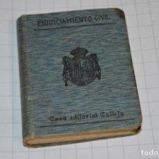 Libros antiguos: CALLEJA - BIBLIOTECA DEL DERECHO VIGENTE - ENJUICIAMIENTO CIVIL / NÚMERO 5 BIS / FINALES 1800 ¡MIRA!. Lote 217088573