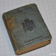 Libros antiguos: CALLEJA - BIBLIOTECA DEL DERECHO VIGENTE - CÓDIGO CIVIL / NÚMERO 03 / FINALES 1800 - ¡MIRA FOTOS!. Lote 217089651