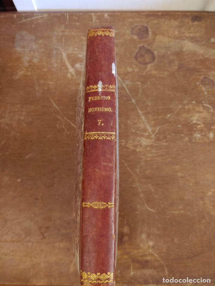 Libros antiguos: Febrero novisimo , libreria de jueces, Eugenio de Tapia pymy 34 - Foto 2 - 218629318