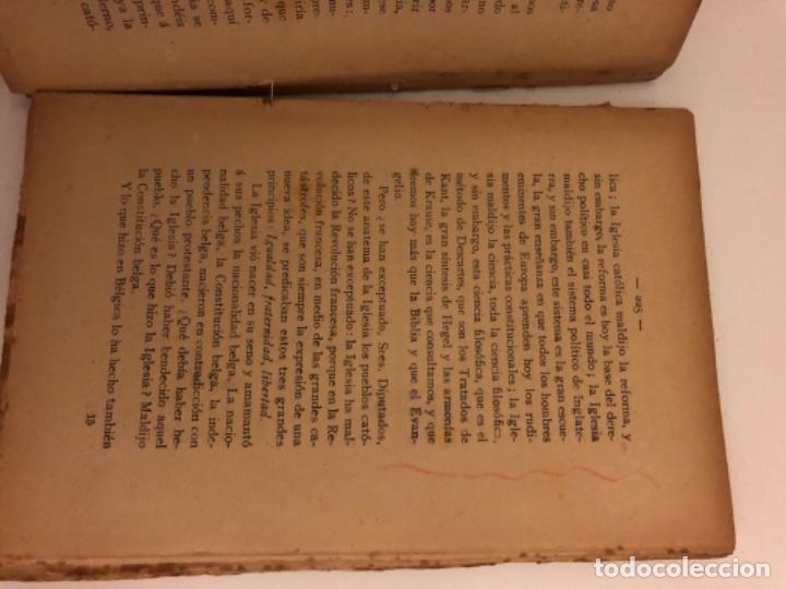 Libros antiguos: Discursos parlamentarios en la Asamblea Constituyente. Emilio Castelar. Tomos I, II y III. Rústica. - Foto 10 - 218646777