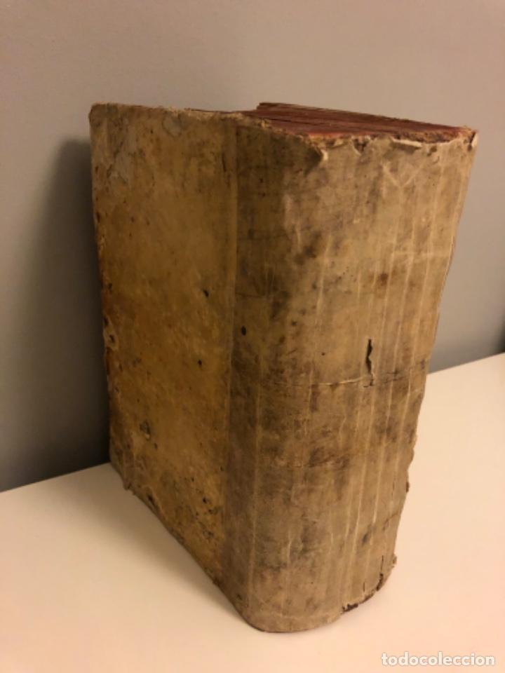 Libros antiguos: AÑO 1581 - DIGESTO DE JUSTINIANO A DOS TINTAS - PANDECTARUM SEU DIGESTUM IURIS CIVILIS - GRAN TAMAÑO - Foto 11 - 218751242