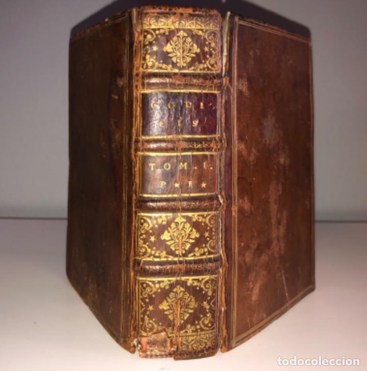 Libros antiguos: AÑO 1581 - CODIGO DE JUSTINIANO - Codex repetitae praelectionis - Corpus iuris civilis - Foto 5 - 218753481