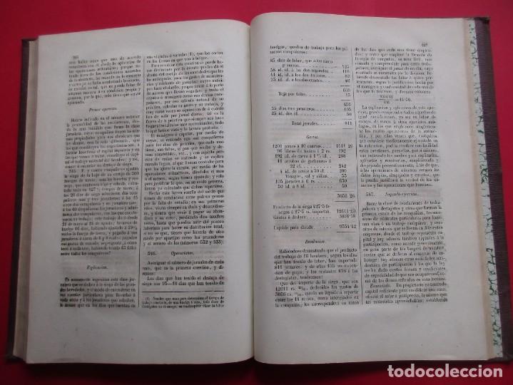 Libros antiguos: SISTEMAS ESPECIALES DE CONTABILIDAD. JUAN DE DIOS NAVARRO. 2 TOMOS. 1856. 336 Y 346 PÁG. 29 X 21 CM. - Foto 5 - 218778405