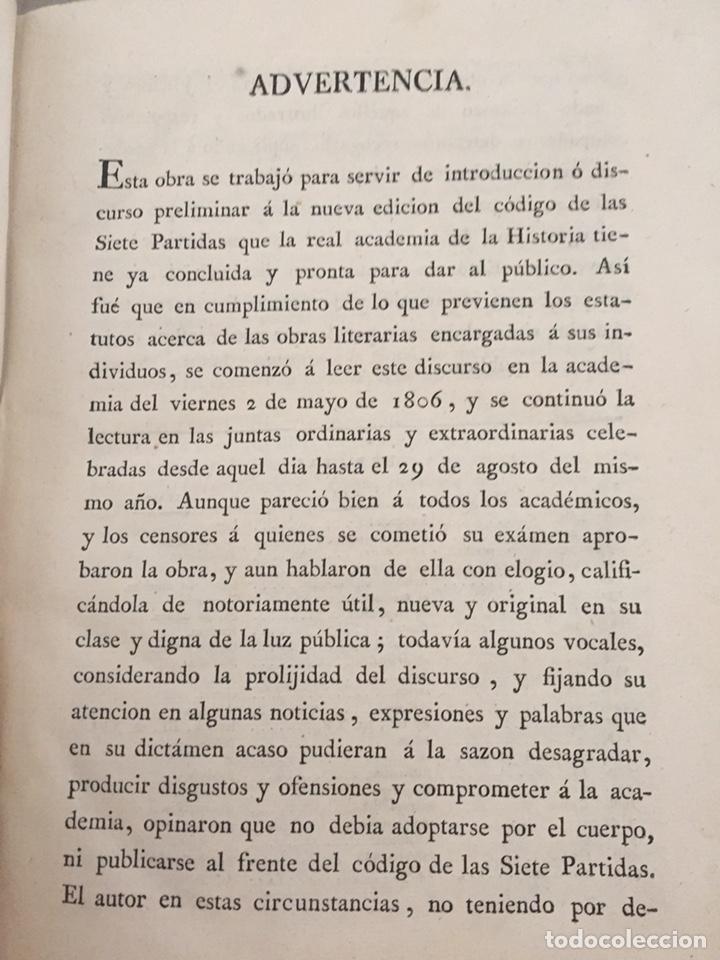 Libros antiguos: ENSAYO HISTORICO-CRITICO SOBRE LA ANTIGUA LEGISLACION Y PRINCIPALES...MARINA (1808) - Foto 2 - 218798608