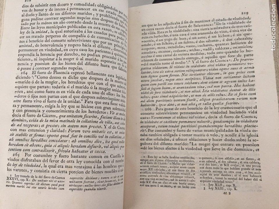Libros antiguos: ENSAYO HISTORICO-CRITICO SOBRE LA ANTIGUA LEGISLACION Y PRINCIPALES...MARINA (1808) - Foto 5 - 218798608