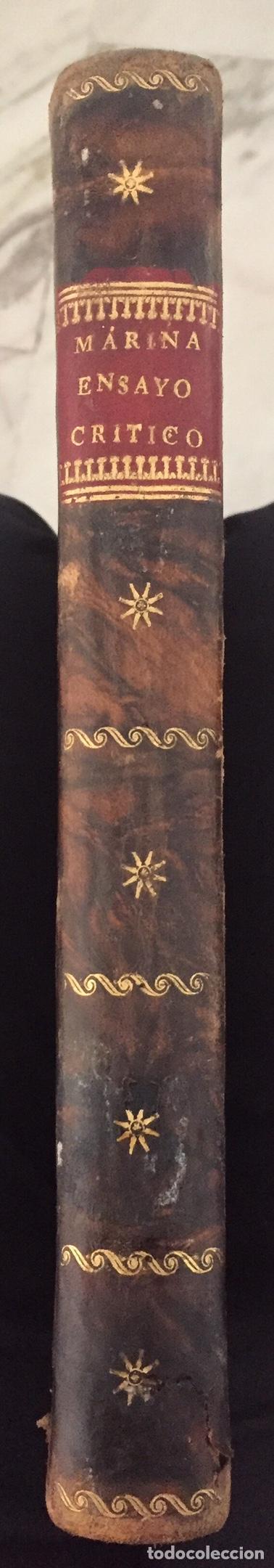 Libros antiguos: ENSAYO HISTORICO-CRITICO SOBRE LA ANTIGUA LEGISLACION Y PRINCIPALES...MARINA (1808) - Foto 11 - 218798608