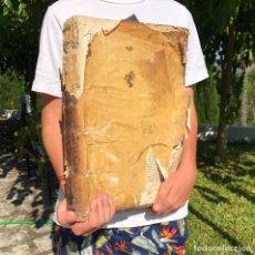 Libros antiguos: SIGLO XVI - BÁRTOLO DE SASSOFERRATO, O SAXOFERRATO - DERECHO ROMANO - GRAN FOLIO - PERGAMINO. Lote 218816158