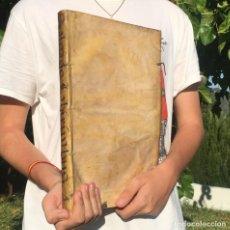 Libros antiguos: 1672 LABYRINTHUS CREDITORUM - SALGADO DE SOMOZA - PERGAMINO - DERECHO LA CORUÑA. Lote 218816748