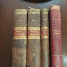 Libros antiguos: DICCIONARIO DE JURISPRUDENCIA - JOAQUÍN ESCRICHE - 3 TOMOS + SUPLEMENTO - 1838-47. Lote 218968262