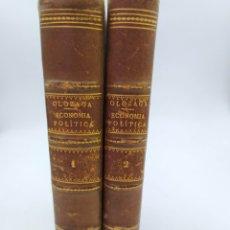 Libros antiguos: TRATADO DE ECONOMÍA POLÍTICA JOSÉ MARÍA DE OLOZAGA Y BUSTAMANTE. Lote 219069551