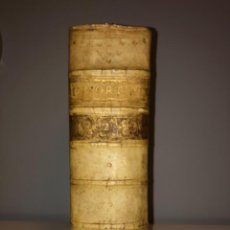 Libros antiguos: IMPECABLE - AÑO 1573 - DIGESTO DE JUSTINIANO - PANDECTARUM SEU DIGESTUM IURIS CIVILIS - GRAN TAMAÑO. Lote 219238640