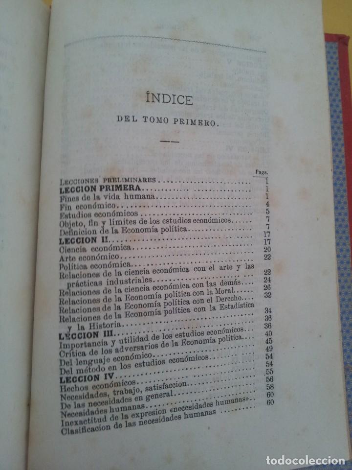 Libros antiguos: D. SANTIAGO DIEGO MADRAZO - LECCIONES DE ECONOMIA POLITICA (3 TOMOS) - 1874 - Foto 3 - 219529930