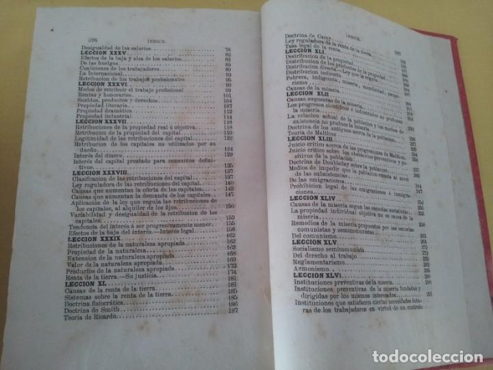 Libros antiguos: D. SANTIAGO DIEGO MADRAZO - LECCIONES DE ECONOMIA POLITICA (3 TOMOS) - 1874 - Foto 9 - 219529930