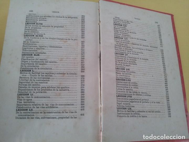 Libros antiguos: D. SANTIAGO DIEGO MADRAZO - LECCIONES DE ECONOMIA POLITICA (3 TOMOS) - 1874 - Foto 10 - 219529930