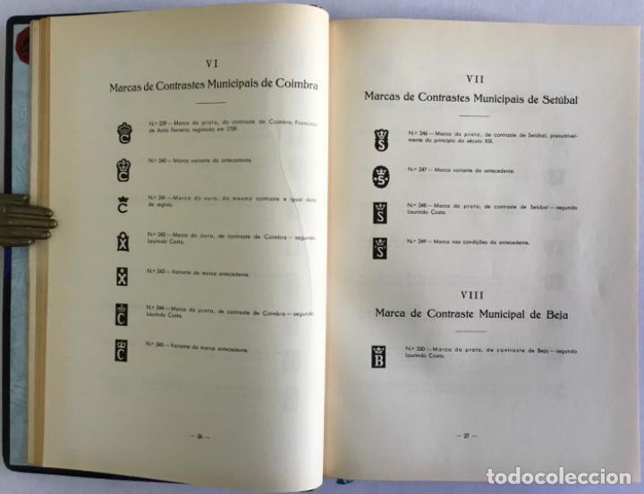 Libros antiguos: MARCAS DE CONTRASTES E OURIVES PORTUGUESES DESDE O SÉCULO XV A 1950. - GONÇALVES VIDAL, Manuel. - Foto 3 - 123196152