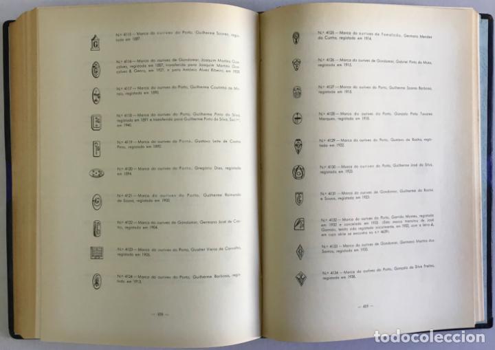 Libros antiguos: MARCAS DE CONTRASTES E OURIVES PORTUGUESES DESDE O SÉCULO XV A 1950. - GONÇALVES VIDAL, Manuel. - Foto 4 - 123196152