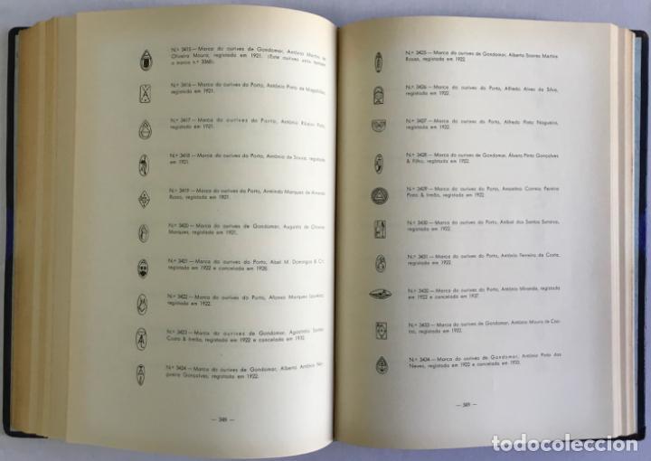 Libros antiguos: MARCAS DE CONTRASTES E OURIVES PORTUGUESES DESDE O SÉCULO XV A 1950. - GONÇALVES VIDAL, Manuel. - Foto 5 - 123196152