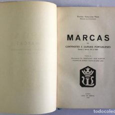 Libros antiguos: MARCAS DE CONTRASTES E OURIVES PORTUGUESES DESDE O SÉCULO XV A 1950. - GONÇALVES VIDAL, MANUEL.. Lote 123196152