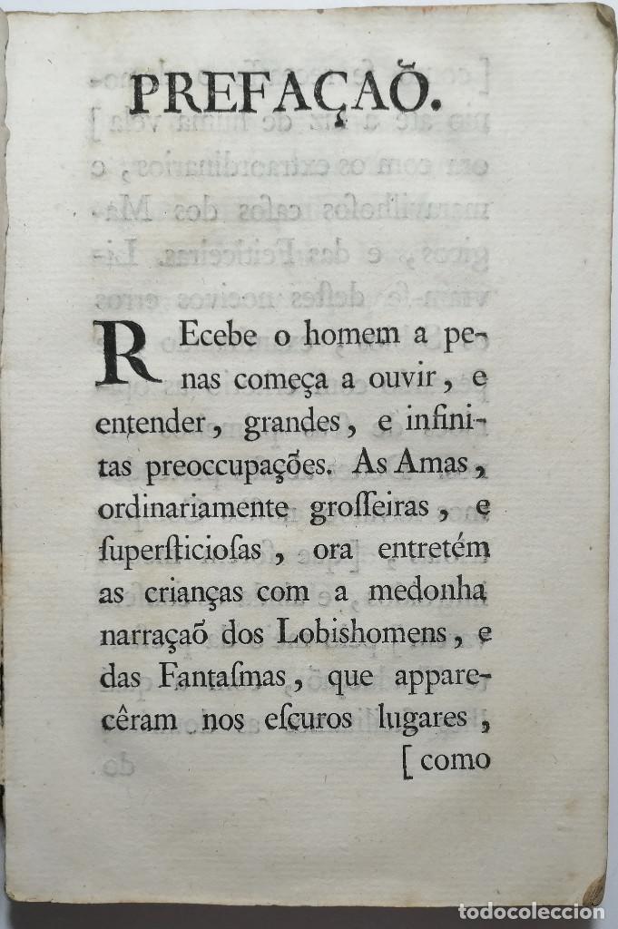 Libros antiguos: DEFEZA DE CECILIA FARAGO ACUSADA DO CRIME FEITICERIA. 1783. - Foto 3 - 221632795