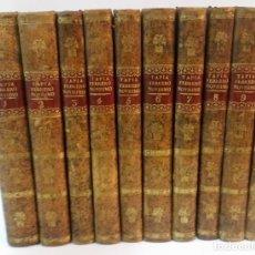Libros antiguos: 1828 - EUGENIO DE TAPIA - FEBRERO NOVÍSIMO, Ó LIBRERÍA DE JUECES, ABOGADOS Y ESCRIBANOS - 10 TOMOS. Lote 221951645