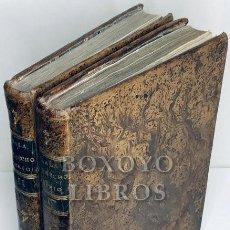 Libros antiguos: SALA, JUAN. ILUSTRACIÓN DEL DERECHO REAL EN ESPAÑA, ORDENADA POR D.../. TOMOS I Y II. Lote 222069992