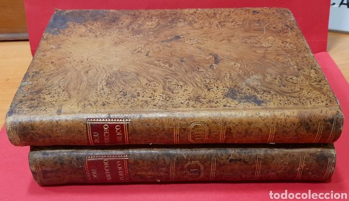 Libros antiguos: INSTITUCIONES DEL DERECHO PÚBLICO GENERAL DE ESPAÑA CON NOTICIA DEL PARTICULAR DE CATALUÑA. 2 TOMOS. - Foto 2 - 222121025