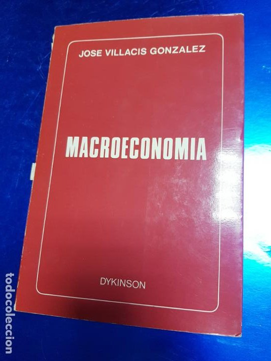Libros antiguos: LIBRO-MACROECONOMIA-JOSE VILLACIS GONZALEZ-MADRID-1986-DYKINSON-VER FOTOS - Foto 3 - 222406442