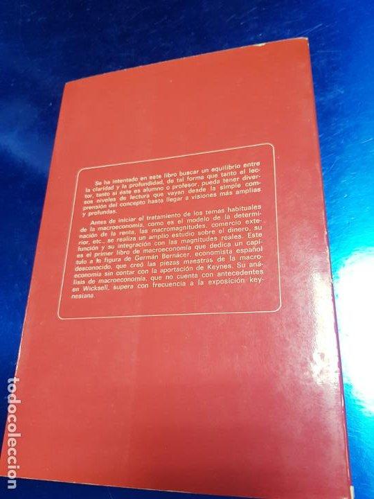 Libros antiguos: LIBRO-MACROECONOMIA-JOSE VILLACIS GONZALEZ-MADRID-1986-DYKINSON-VER FOTOS - Foto 7 - 222406442