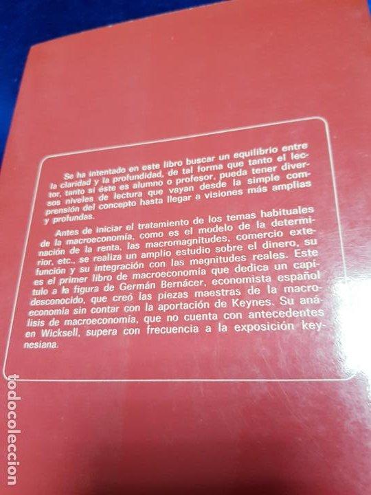 Libros antiguos: LIBRO-MACROECONOMIA-JOSE VILLACIS GONZALEZ-MADRID-1986-DYKINSON-VER FOTOS - Foto 2 - 222406442