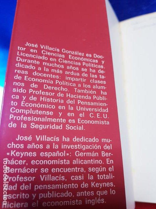 Libros antiguos: LIBRO-MACROECONOMIA-JOSE VILLACIS GONZALEZ-MADRID-1986-DYKINSON-VER FOTOS - Foto 4 - 222406442