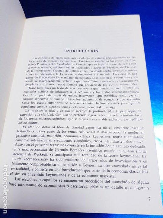 Libros antiguos: LIBRO-MACROECONOMIA-JOSE VILLACIS GONZALEZ-MADRID-1986-DYKINSON-VER FOTOS - Foto 9 - 222406442