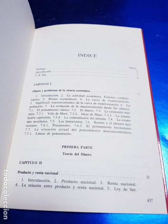 Libros antiguos: LIBRO-MACROECONOMIA-JOSE VILLACIS GONZALEZ-MADRID-1986-DYKINSON-VER FOTOS - Foto 11 - 222406442