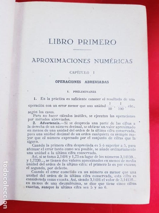 Libros antiguos: LIBRO-CALCULO COMERCIAL-EDICION BRUÑO-1943-MADRID-VER FOTOS - Foto 7 - 222408522