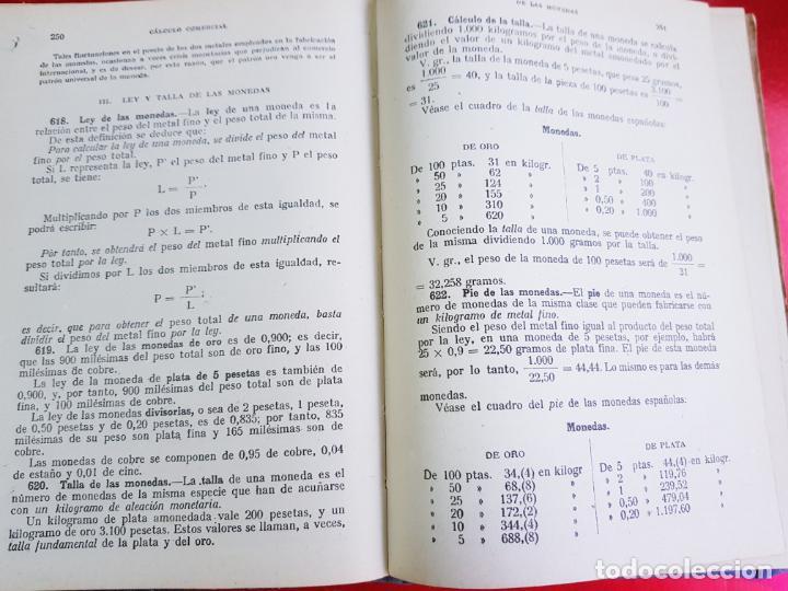 Libros antiguos: LIBRO-CALCULO COMERCIAL-EDICION BRUÑO-1943-MADRID-VER FOTOS - Foto 9 - 222408522