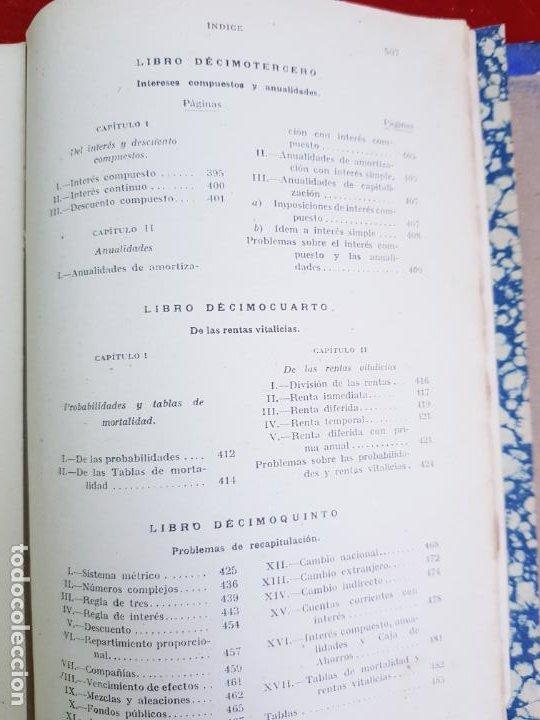 Libros antiguos: LIBRO-CALCULO COMERCIAL-EDICION BRUÑO-1943-MADRID-VER FOTOS - Foto 10 - 222408522